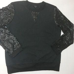 Kaktus long sleeved sequence sweater NWOT
